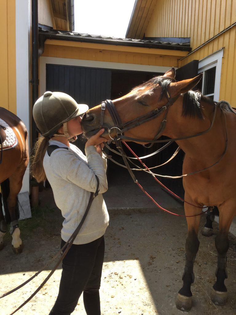 Camillas favoritmule att pussa på <3