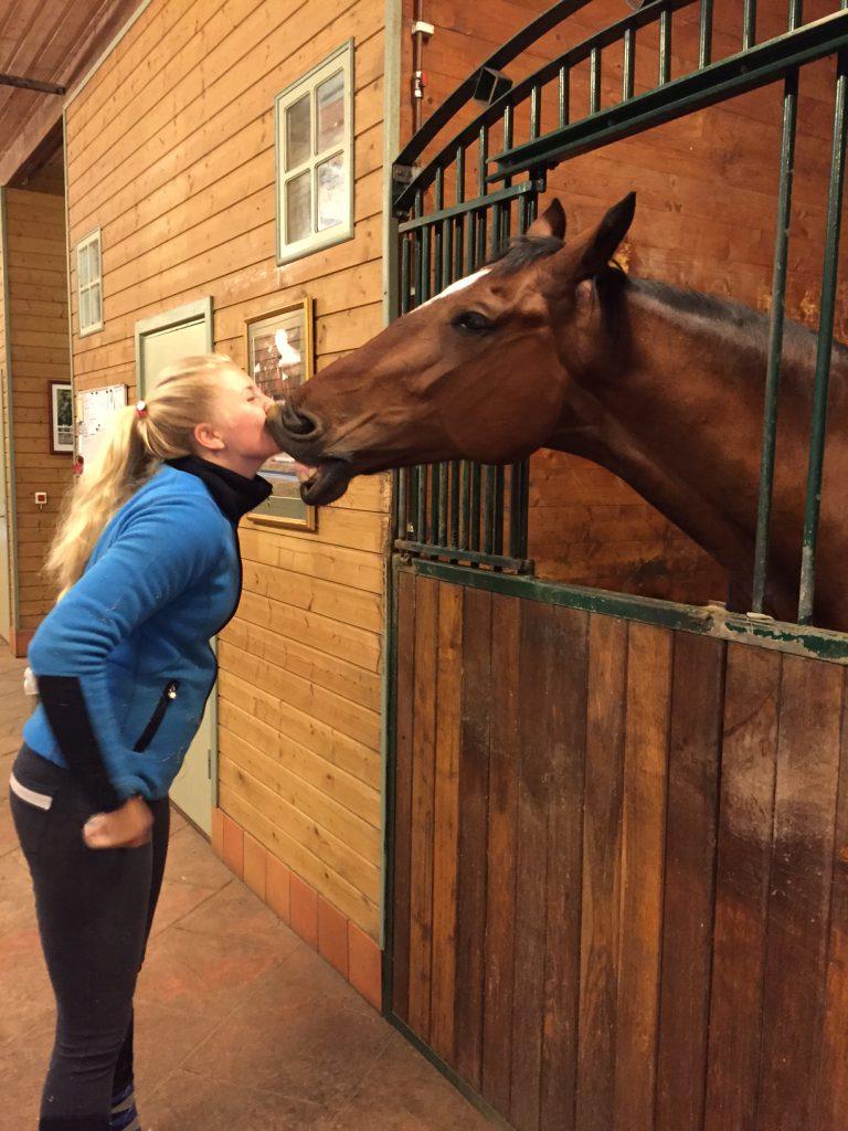 Amanda och puss-Calle